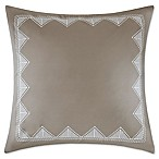 INK+IVY Imani European Pillow Sham in Aluminum