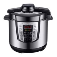 Classic Cuisine 6 qt. 4-in-1 Stainless Steel Pressure Cooker
