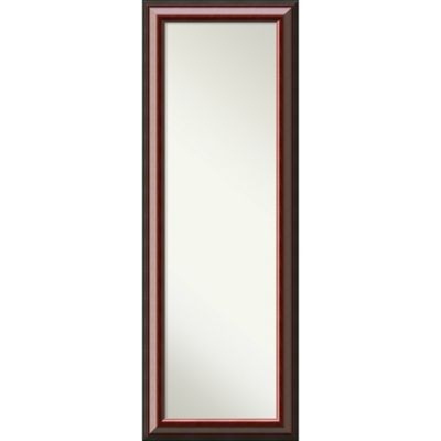 Amanti Cambridge 26 Inch X 32 Inch Door Mirror In Mahogany