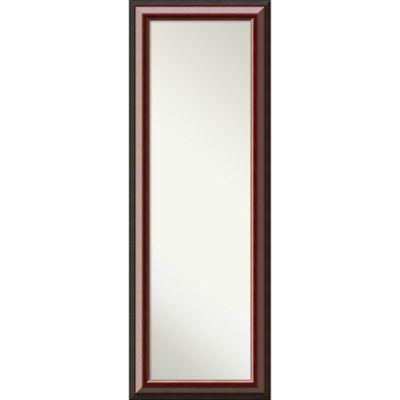 Captivating Amanti Cambridge 26 Inch X 32 Inch Door Mirror In Mahogany