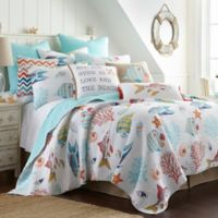 Levtex Home Rip Tide Full/Queen Quilt Set in Aqua