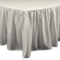 Brielle Essential California King Bed Skirt in Ivory