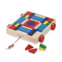 Melissa & Doug® Blocks on Wheels