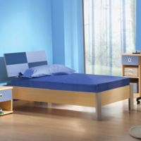 E-Rest 5-Inch Kids Memory Foam Twin Mattress in Blue