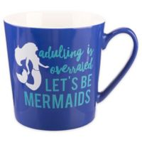 Formations Flare Mermaid Mug in Blue