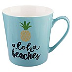Formations Flare Pineapple Mug in Blue