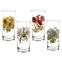 Portmeirion® Botanic Garden 15 oz. Highball Glasses (Set of 4)