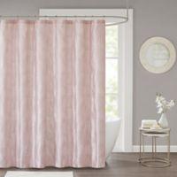 Cosma Shower Curtain in Blush