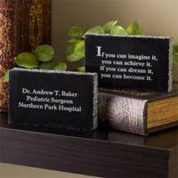 Inspiring Messages Engraved Medical Marble Keepsake