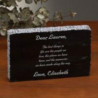 Create Your Own Engraved Marble Keepsake