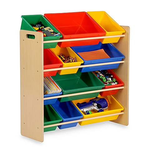 Honey Can Do 174 Kids Toy Organizer And Storage Bins In