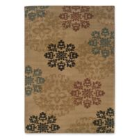 Amaya Rugs Chapman Floral 7'10 x 10' Area Rug in Gold