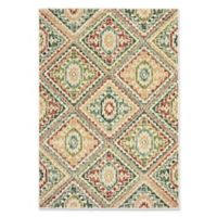 Oriental Weavers Dawson Geometric Diamond 3'10 x 5'5 Area Rug in Ivory