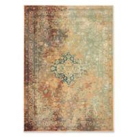 Oriental Weavers Dawson 6'7 x 9'6 Area Rug in Rust/Gold