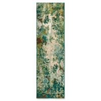 Oriental Weavers Dawson Woven 2'3 x 7'6 Area Rug in Blue
