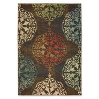 Oriental Weavers Dawson Woven 3'10 x 5'5 Area Rug in Brown