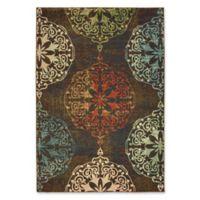 Oriental Weavers Dawson Woven 5'3 x 7'6 Area Rug in Brown