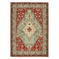 Oriental Weavers Dawson Woven 9'10 x 12'10 Area Rug in Rust