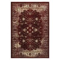 Oriental Weavers Empire 5'3 x 7'6 Area Rug in Red