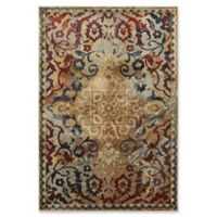 Oriental Weavers Empire Woven 5'3 x 7'6 Area Rug in Gold