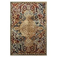 Oriental Weavers Empire Woven 6'7 x 9'6 Area Rug in Gold