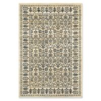Oriental Weavers Empire Woven 3'10 x 5'5 Area Rug in Ivory