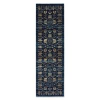 Oriental Weavers Empire Woven 2'3 x 7'6 Area Rug in Navy