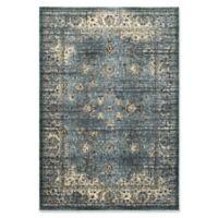 Oriental Weavers Empire Vintage Woven 3'10 x 5'5 Area Rug in Blue
