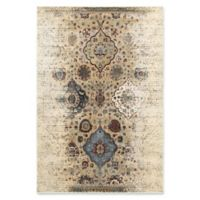 Oriental Weavers Empire Woven 3'10 x 5'5 Area Rug in Ivory/Red