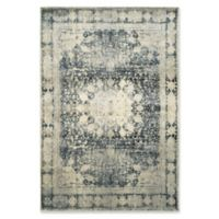 Oriental Weavers Empire Woven 3'10 x 5'5 Area Rug in Ivory/Teal