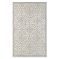 Oriental Weavers Manor Floral 3'6 x 5'6 Area Rug in Stone