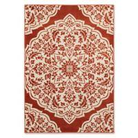 Oriental Weavers Jayden Damask 7'10 x 10'10 Area Rug in Rust
