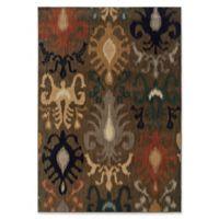 Oriental Weaver Kasbah 3'10 x 5'5 Area Rug in Brown