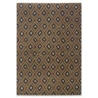 Oriental Weavers Kasbah 5'3 x 7'6 Area Rug in Grey