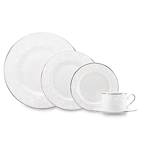 Marchesa by Lenox® Porcelain Lace™ 5-Piece Place Setting  sc 1 st  Bed Bath u0026 Beyond & Marchesa by Lenox® Porcelain Lace™ 5-Piece Place Setting - Bed Bath ...