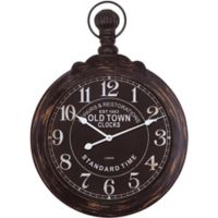 Yosemite Home Repairs & Restorations Dark Timepiece Wall Clock