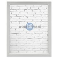 Gallery 8-Inch x 10-Inch Wood Frame in Silver