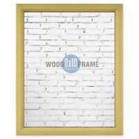 Gallery 8-Inch x 10-Inch Wood Frame in Gold