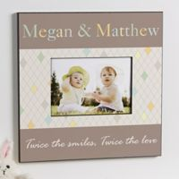 """Just For Them"" Twins 5-Inch x 7-Inch Wall Frame"