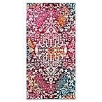 "Safavieh Watercolor 2'7"" x 5' Eve Rug in Fuchsia"