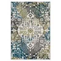 Safavieh Watercolor 9' x 12' Eve Rug in Peacock Blue