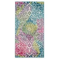 Safavieh Watercolor 4' x 6' Rene Rug in Fuchsia