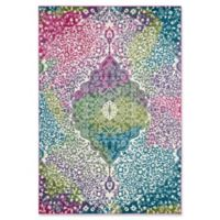 Safavieh Watercolor 9' x 12' Rene Rug in Fuchsia