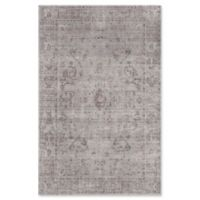 Rugs America Asteria Floral 4' x 6' Area Rug in Grey