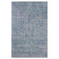 Rugs America Asteria Faded Floral 2' x 3' Accent Rug in Blue
