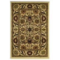 Rugs America New Vision Tabriz 2' x 2'11 Accent Rug in Beige
