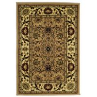 Rugs America New Vision Tabriz 2' x 2'11 Accent Rug in Pink