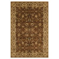 Rugs America New Vision Tabriz 3'11 x 5'3 Area Rug in Brown