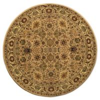 Rugs America New Vision Tabriz 5'3 Round Area Rug in Pink