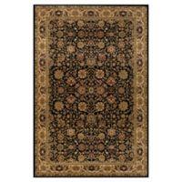 Rugs America New Vision Tabriz 5'3 x 7'10 Area Rug in Black